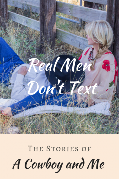 real-men-dont-text