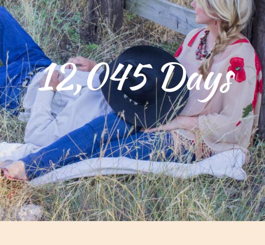 12,045 Days of L.O.V.E.